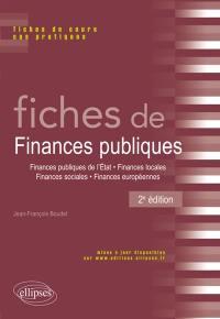 Fiches de finances publiques