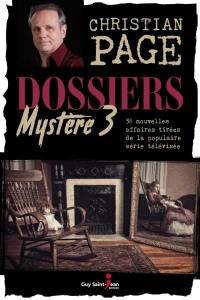 Dossiers Mystère. Volume 3 ,