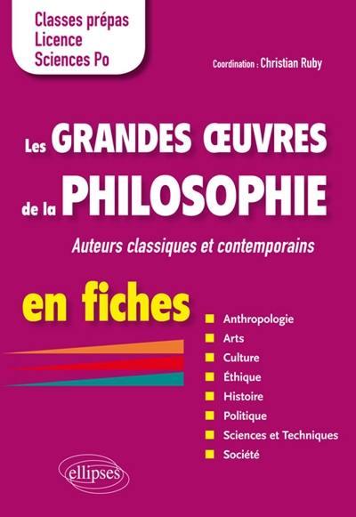 Les grandes oeuvres de la philosophie en fiches