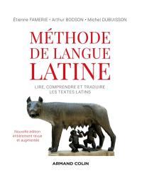 Méthode de langue latine