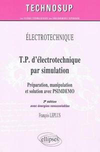 TP d'électrotechnique par simulation