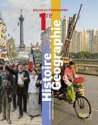 Histoire géographie 1re : nouveau programme