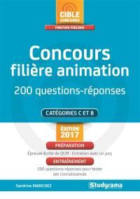 Concours filière animation