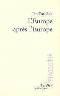 L'Europe après l'Europe