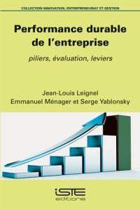 Performance durable de l'entreprise