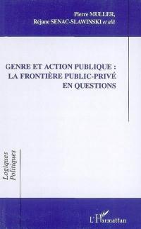 Genre et action publique