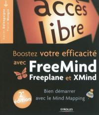 Boostez votre efficacité avec FreeMind, Freeplane et XMind