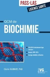 QCM de biochimie, Pass-LAS, licence santé