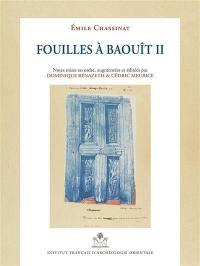 Les fouilles à Baouît. Volume 2,