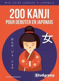 200 kanji pour débuter en japonais