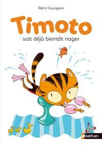 Timoto. Timoto sait déjà bientôt nager