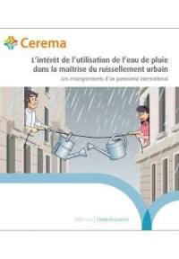 L'intérêt de l'utilisation de l'eau de pluie dans la maîtrise du ruissellement urbain