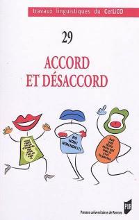 Accord et désaccord