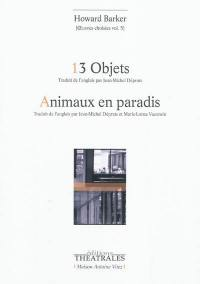 Oeuvres choisies. Volume 5, 13 objets