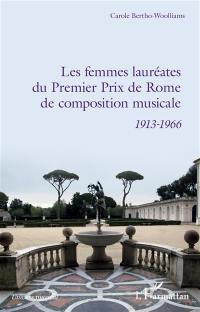 Les femmes lauréates du premier prix de Rome de composition musicale