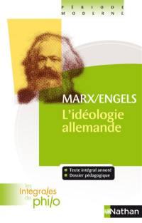 L'idéologie allemande (1845-1846)