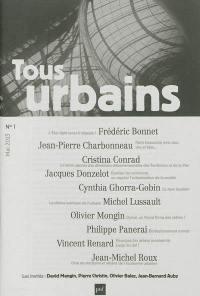 Tous urbains. n° 1 (2013),