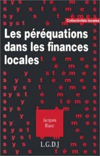 Les péréquations dans les finances locales