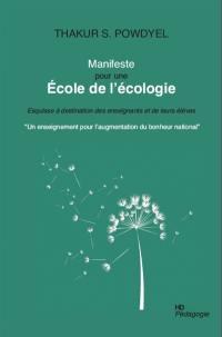 Manifeste pour une école de l'écologie