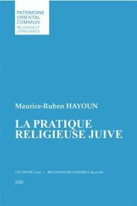 La pratique religieuse juive