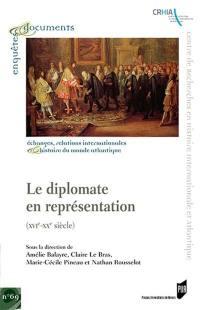 Le diplomate en représentation