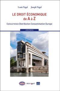 Le droit économique de A à Z