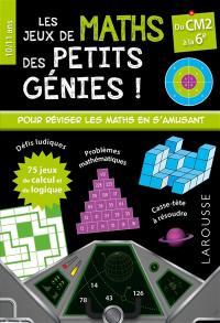 Les jeux de maths des petits génies !