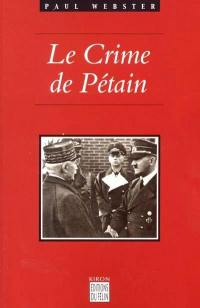 Le crime de Pétain