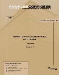 Adjoint d'animation principal de 2e classe