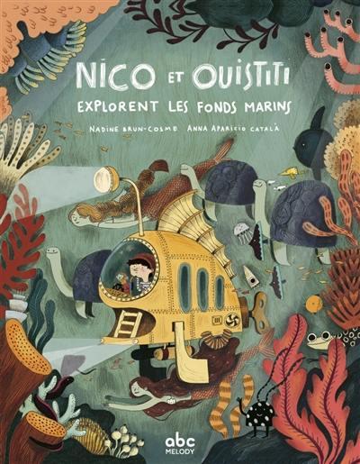 Nico et Ouistiti. Volume 1, Nico et Ouistiti explorent les fonds marins