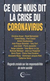 Ce que nous dit la crise du coronavirus