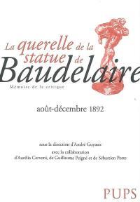 La querelle de la statue de Baudelaire