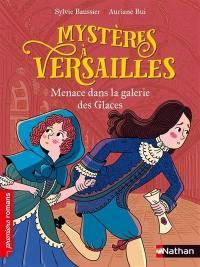Mystères à Versailles, Menace dans la galerie des glaces