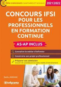 Concours IFSI pour les professionnels en formation continue