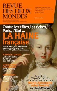 Revue des deux mondes. n° 6 (2019), La haine française