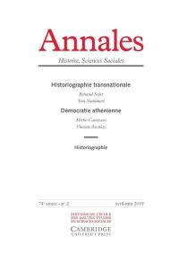 Annales. n° 2 (2019), Démocratie athénienne