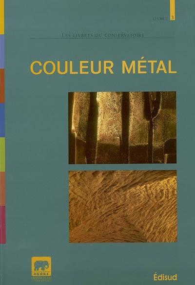 Couleur métal