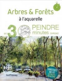Arbres & forêts à l'aquarelle