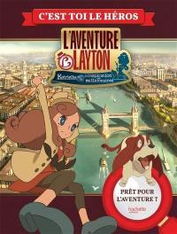 L'aventure Layton : Katrielle et la conspiration des millionnaires, L'aventure Layton