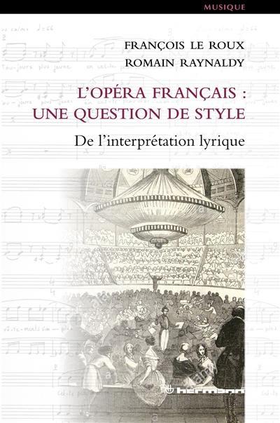 L'opéra français
