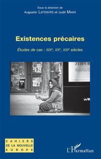 Existences précaires