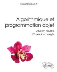 Algorithmique et programmation objet