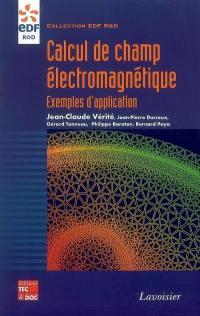 Calcul de champ électromagnétique