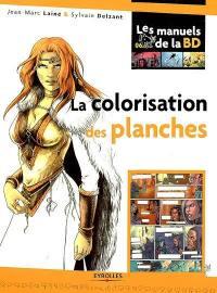 La colorisation des planches