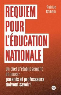 Requiem pour l'Education nationale