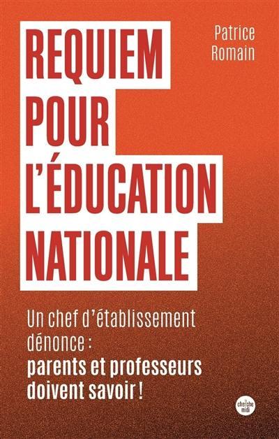 Requiem pour l'Education nationale