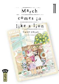March comes in like a lion. Volume 11,