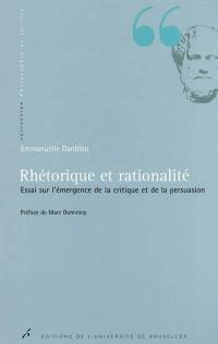 Rhétorique et rationalité