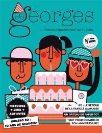 Georges : drôle de magazine pour enfants. n° 50, Anniversaire