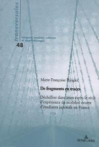 De fragments en traces